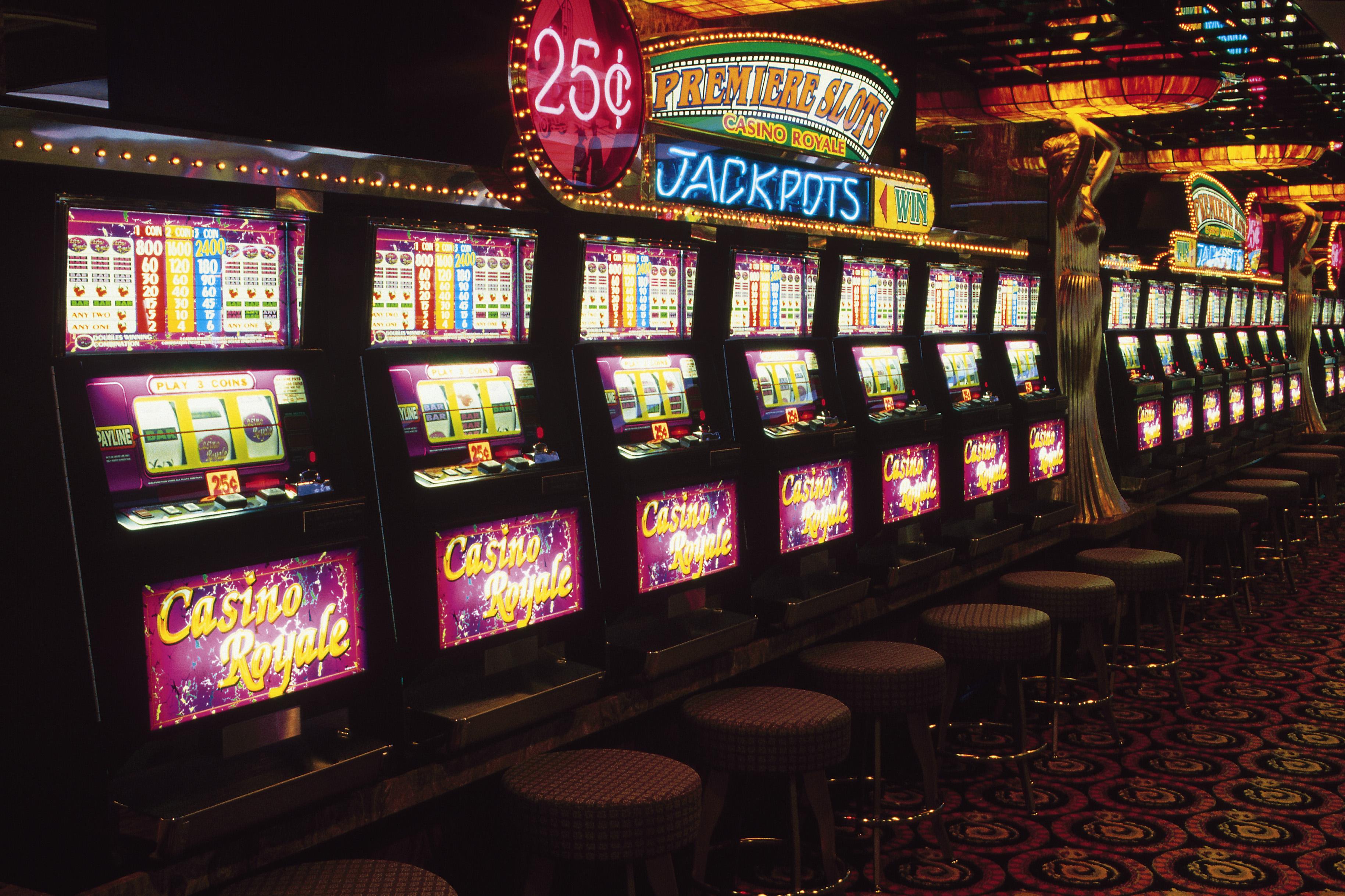 Slot machine a sous las vegas